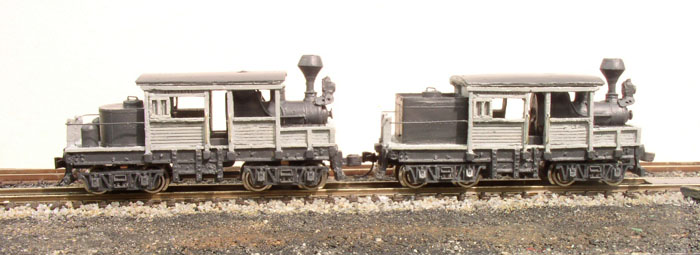 N scale 18-ton Climax A geared steam locomotive